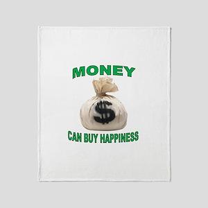 CASH ME IN Throw Blanket