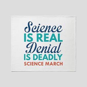 Science Is Real Stadium Blanket