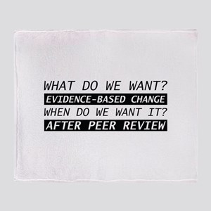 After Peer Review Stadium Blanket