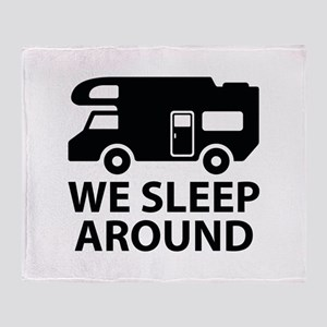 We Sleep Around Stadium Blanket