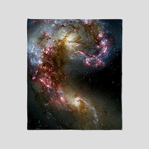 Antennae Galaxies Throw Blanket