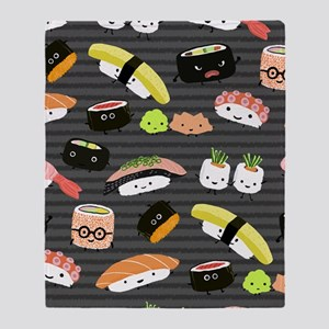 sushinook Throw Blanket