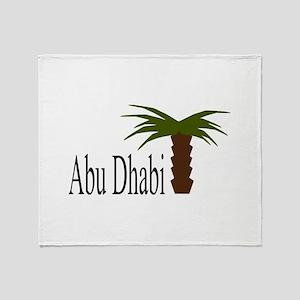 I love Abu Dhabi, amazing city! Throw Blanket