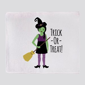 Trick - Or - Treat! Throw Blanket