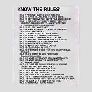The Rules 02 Throw Blanket