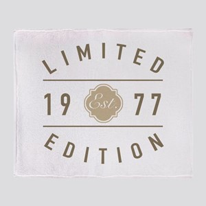 1977 Limited Edition Throw Blanket