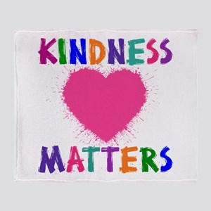 KINDNESS MATTERS Throw Blanket