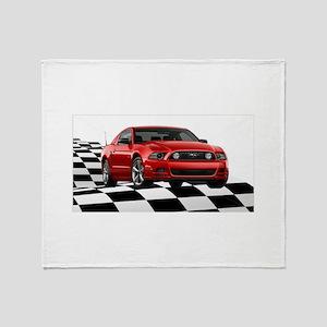 2014RRMustangGT Throw Blanket