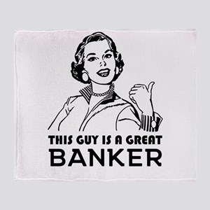 Gifts for Bankers. *BEST SELLER* Throw Blanket