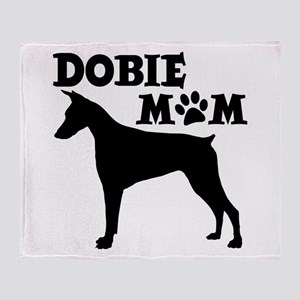 DOBIE MOM Throw Blanket
