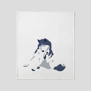 shed_tshirt Throw Blanket