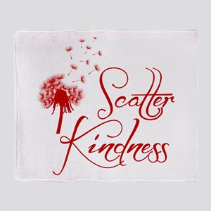 SCATTER KINDNESS Throw Blanket