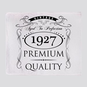 1927 Premium Quality Throw Blanket
