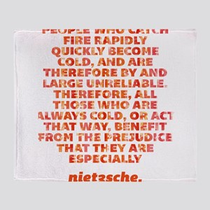 Catch Fire Rapidly Throw Blanket