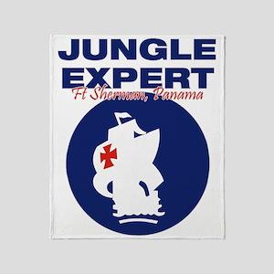 JungleExpert001 Throw Blanket
