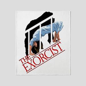 The Exorcist  Logo Throw Blanket