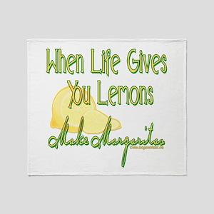 Make Margaritas Throw Blanket