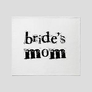Bride's Mom Throw Blanket