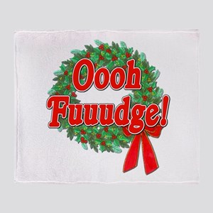 Oooh Fudge! A Christmas Story Throw Blanket