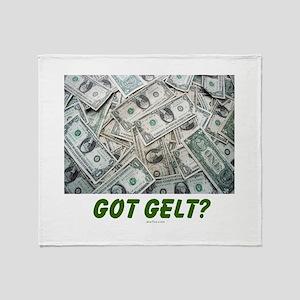 Got Gelt? Jewish Throw Blanket