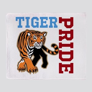Tiger Pride Throw Blanket
