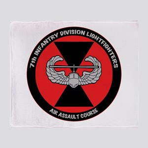 Air Assault Throw Blanket