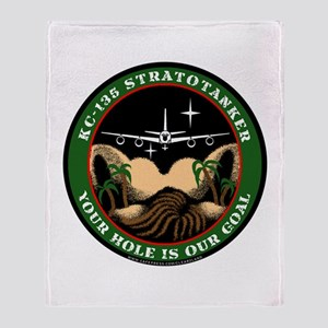 Your Hole is our Goal Throw Blanket