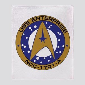 Enterprise 1701-A Throw Blanket