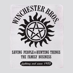 winchester_bros_CP2 Throw Blanket
