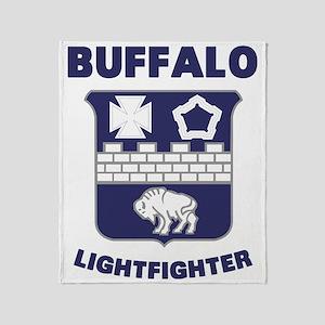 BuffaloLight Throw Blanket