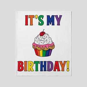 It's My Birthday! Throw Blanket