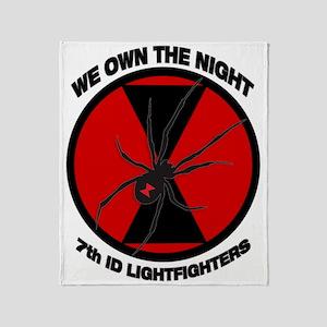 7th ID Light Throw Blanket