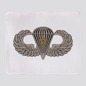 Combat Parachutist 1st awd basic Throw Blanket