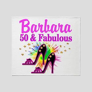 FANTASTIC 50TH Throw Blanket