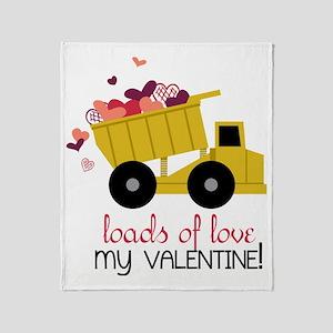 Loads of Love Throw Blanket