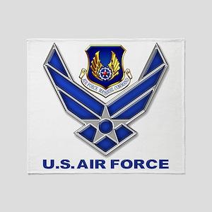 Air Materiel Command Throw Blanket