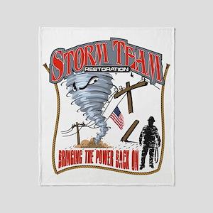2011 Tornado Storm Cafe Press Throw Blanket