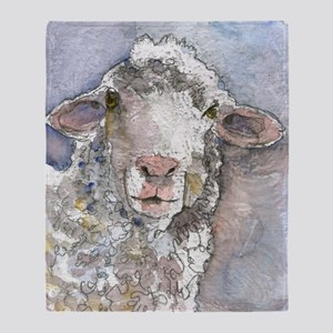 Shorn This Way, Sheep Throw Blanket
