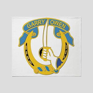 DUI - 7th Cavalry Regiment ,3rd Squadron Throw Bla