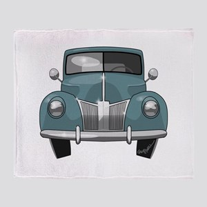 1940 Ford Truck Throw Blanket