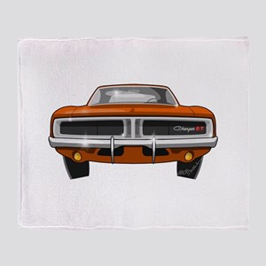 1969 Charger Throw Blanket