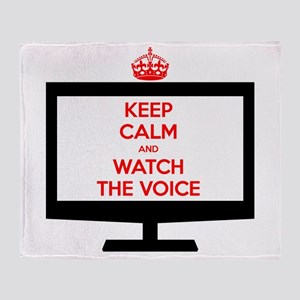 Keep Calm and Watch The Voice Stadium Blanket