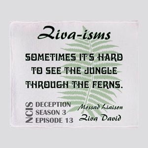 ZIVA-ISMS Throw Blanket