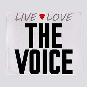 Live Love The Voice Stadium Blanket