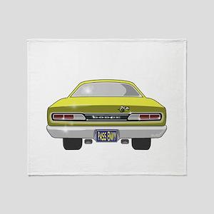 1969 Super Bee Throw Blanket