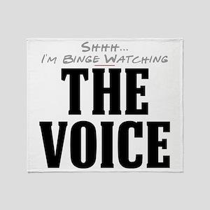 Shhh... I'm Binge Watching The Voice Stadium Blank