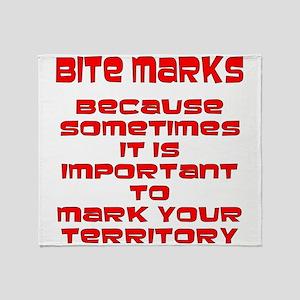 Mark Your Territory Throw Blanket