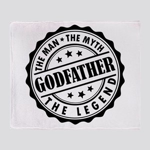 Godfather - The Man The Myth The Legend Throw Blan