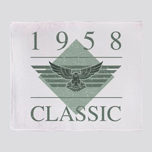 1958 Classic Eagle Throw Blanket
