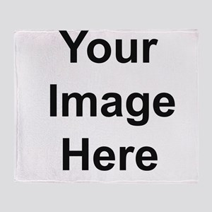 Add your own image Throw Blanket